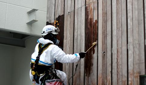 訓練等の塗装