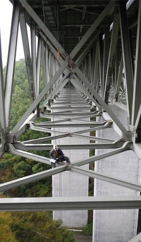 大断面トラス橋